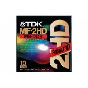 "Дискеты TDK 3.5"" HD IBM-formatted (10 шт)"