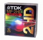 "Дискеты TDK 3.5"" HD IBM-formatted Plastic Box (10 шт)"