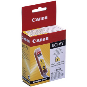 Картридж CANON BCI-6Y (8200/S800/S820D/S900/S9000) Yellow
