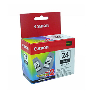 Картридж CANON BCI-24 Bk (Twin Pack S300) Black