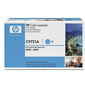 Картридж HP C9721A cyan для Color LaserJet 4600