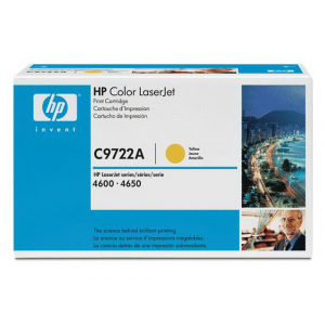 Картридж HP C9722A yellow для Color LaserJet 4600