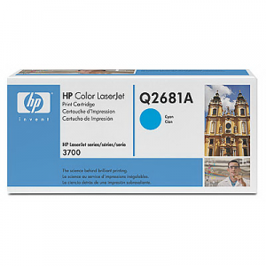 Картридж HP Q2681A cyan для Color LaserJet 3700
