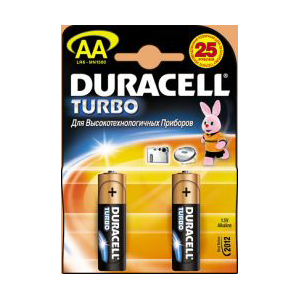 Батарейки Duracell LR6 TURBO 4 шт.