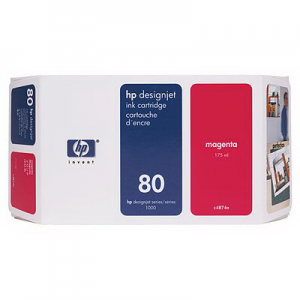 Картридж HP C4847A №80XL Magenta (350ml)