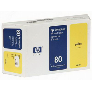 Картридж HP C4848A №80XL Yellow (350ml)