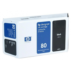 Картридж HP C4871A №80XL Black (350ml)