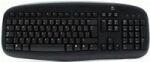Клавиатура Logitech Deluxe 250 (PS/2 Black) OEM (967642)