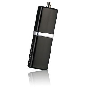 Флешка USB2.0 4Gb Silicon Power Luxmini 710 Black SP004GBUF2710V1K