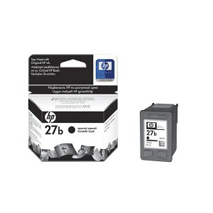 Картридж HP C8727BE №27b Black (10мл) Эконом-картридж