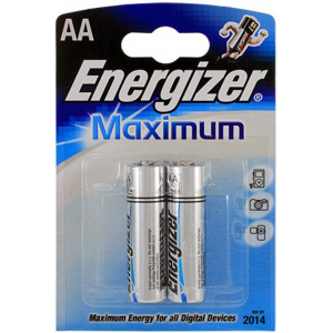 Батарейки Energizer LR6 Maximum E91 Bl2 2 шт.