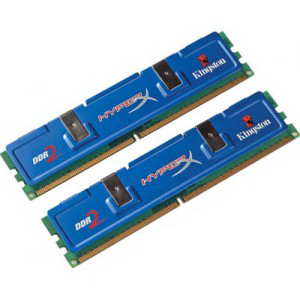 Память DDRII 1066 DIMM 4GB (PC2-8500 2 x 2GB) Kingston [KHX8500D2K2/4G]