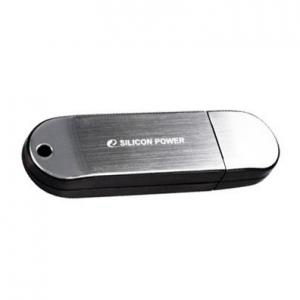 USB2.0 Flash Drive 16Gb Silicon Power Luxmini 910 [SP016GBUF2910V1S] Silver