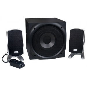 Колонки 2.1 Defender I-Wave 45 (2x10W +Subwoofer 25W, проводной пульт)