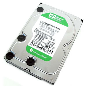 Жесткий диск SATA 500 Gb Western Digital Caviar Green 5400-7200rpm, 32Mb (WD5000AADS)