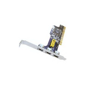 Контроллер PCI IEEE1394 TRENDNet TFW-H4PI  3-Port