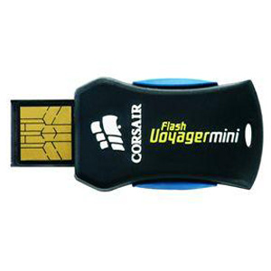 USB2.0 Flash Drive 4Gb Corsair Flash Voyager Mini [CMFUSBMINI-4G]