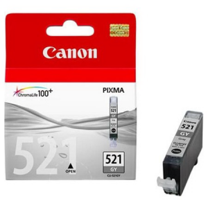 Картридж CANON CLI-521GY светло-черный  for PIXMA iP4200/iP5200/iP5200R/iP6600D/MP500/MP800/MP950