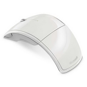 Мышь беспроводная Microsoft Wireless ARC Mac/Win USB  White (ZJA-00048) RTL