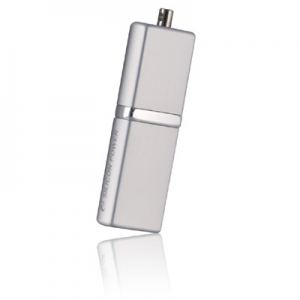 USB2.0 Flash Drive 8Gb Silicon Power Luxmini 710 [SP008GBUF2710V1S] Silver