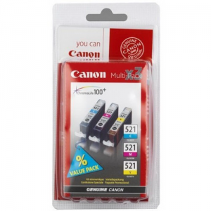 ����� ���������� CANON CLI-521 {Pixma iP3600/4600/MP540/620/630980}