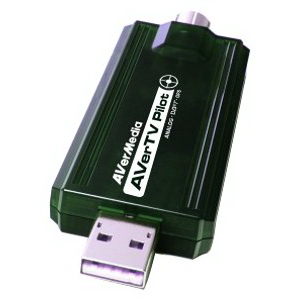 Тюнер TV AVerTV Pilot {GPS, DVB-T, PAL, SECAM, FM, MPEG 1/2/4, RC} {USB 2.0}