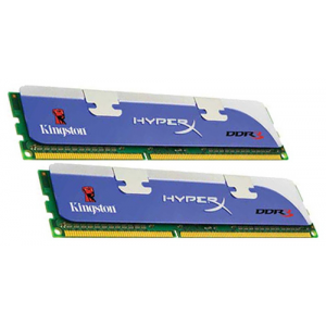 Память DDR-III 1600 DIMM 4096MB (PC3-12800 2 x 2Gb) Kingston HyperX [KHX1600C9D3K2/4GX]