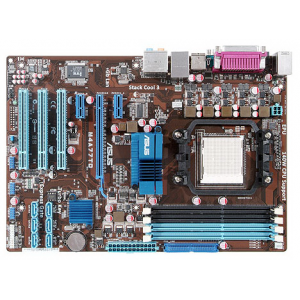 Материнская плата ASUS M4A77TD (AMD770 Socket AM3 PCI-Ex DDR3-1800 SATA2 RAID 8-ch Audio GLAN) ATX Retail