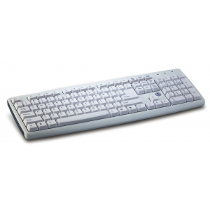 Клавиатура Genius KB-06XE white (PS/2)