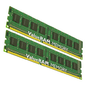 Память DDR-III 1333 DIMM 8GB (PC3-10600 2 x 4Gb) Kingston [KVR1333D3N9K2/8G]