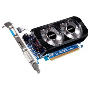 Видеокарта GIGABYTE NVIDIA GeForce GT 430 1GB DDR3 DVI-I HDMI PCI-Еxpress (GV-N430OC-1GL)