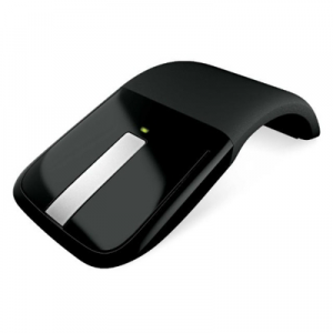 Мышь беспроводная Microsoft Wireless ARC Touch Mouse USB Black (RVF-00004) RTL