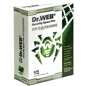 �� ��������� Dr. Web ��������� Security Space Pro ��������� ��������, ��������� �������� �� 12 ��� BFW-W12-0001-2