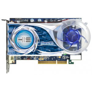 Видеокарта HIS ATI Radeon HD 4670 ICEQ 1024MB DDR3 128Bit Dual DVI HDCP TV-Out AGP (H467QS1GHA) Retail