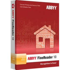 ПО ABBYY  FineReader 10 Home Edition (AF10-8S1B01-102)