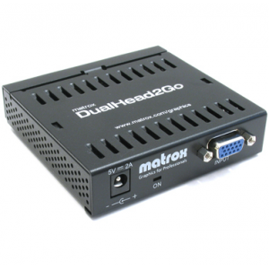 Matrox D2G-A2A-IF DualHead2Go enables you to attach two displays to your computer Retail