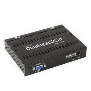 Matrox D2G-A2D-IF DualHead2Go Digital Edition enables you to attach two displays to your computer Retail