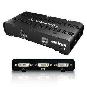 Внешний видеоадаптер Matrox TripleHead2Go Digital SE T2G-DP3D-IF ROHS DP на 3хDVI