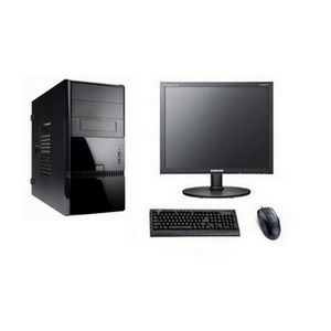 Рабочее место Матрица 02 Intel Core i3 2100 H61 DDR3 2048Mb HDD 320Gb DVD-RW HD Audio CR LAN Win 7Pro +20' LCD1600x900, KB, Mouse