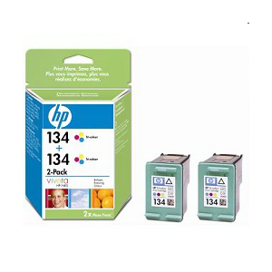Картридж HP C9505HE №134 color двойной