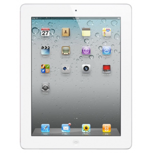 Планшет Apple iPad2 32 GB WiFi White MC980 + евровилка