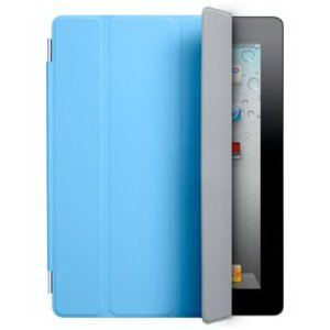 Обложка Apple iPad2 Smart Cover Polyurethane Blue MC942LL/A (синий)