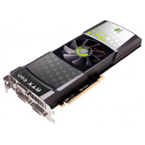 Видеокарта Point Of View NVIDIA GeForce GTX 590 CUDA 3072MB GDDR5 Dual DVI mini HDMI PCI-Е Retail
