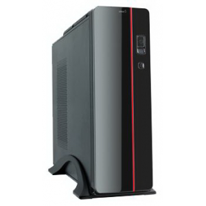 Маленький компьютер Матрица 02 AMD Athlon II X2 220 (2.80 GHz) DDR3 3Gb HDD 500Gb ATI HD5550 1024Mb GLAN Win 7St