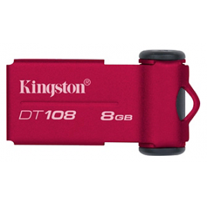 USB2.0 Flash Drive 8Gb Kingston (DT108/8Gb)