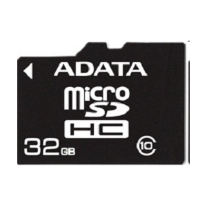SD Micro 32Gb  A-DATA Class 10 (AUSDH32GCL10-R)