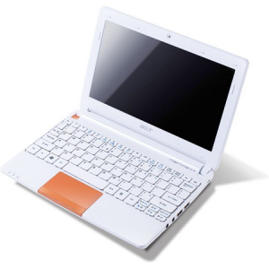 "Ноутбук Acer Aspire AOHAPPY2-N578Qoo 10"" (Atom N570 2Gb 320Gb Wi-Fi Cam Win-7 Starter) Orange [LU.SG108.045]"