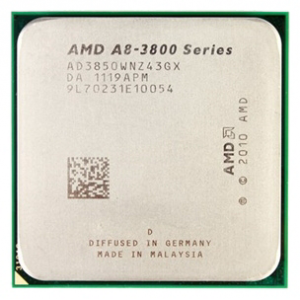 ��������� AMD A8 3850 2.90 Ghz 4Mb Socket FM1 Radeon HD6550D OEM
