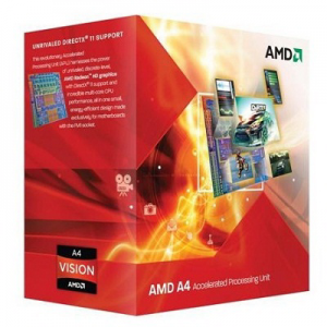 Процессор AMD A4 3400 2.70 Ghz 1Mb Socket FM1 Radeon HD6410 BOX