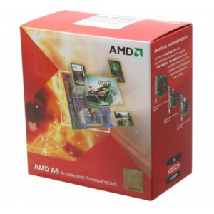 Процессор AMD A6 3500 2.10 Ghz 3Mb Socket FM1 Radeon HD6530D BOX
